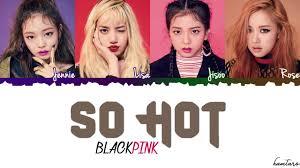 blackpink download album blackpink so hot theblacklabel remix lyrics color