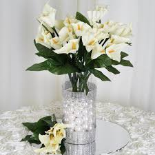 wedding flowers ebay 168 silk calla flowers for wedding bouquets centerpieces