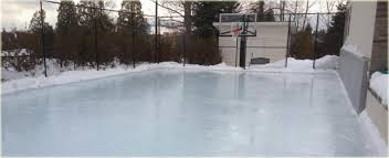 How To Make A Ice Rink In Your Backyard How To Turn Your Backyard Court Into An Ice Rink