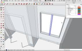 sketchup tutorial how to model a simple window design student savvy