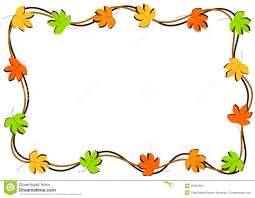 Borders For Invitation Cards Free Autumn Leaves Border Frame Stock Illustration Image 43681663