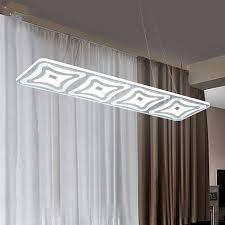 esszimmer len pendelleuchten rechteck led pendelleuchte moderne küche acryl suspension hängen