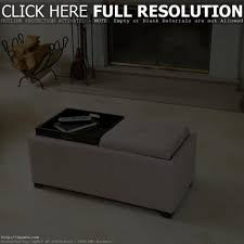 coffee table ottoman coffee table with storage tray