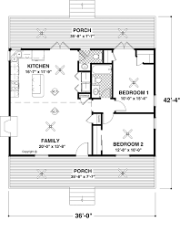 Cheap Small House Plans 26 X 40 Cape House Plans Second Units Rental Guest House