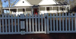 fence pvc picket fence formidable pvc picket fence ebay