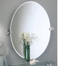 oval pivot bathroom mirror oval pivot bathroom mirror bathroom mirrors