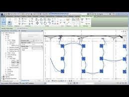 revit electrical power lighting wiring and circuits cadclip