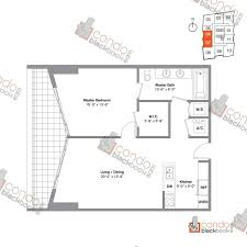 Icon Floor Plan by Icon Brickell Viceroy Unit 3407 Condo For Sale In Brickell