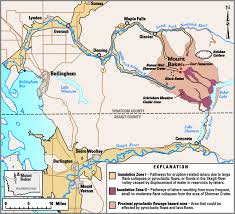 Mount Washington Map by Mount Baker U2014living With An Active Volcano Usgs Fact Sheet 059 00