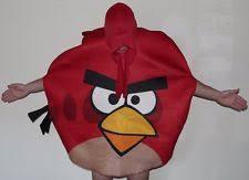 Angry Birds Halloween Costume Red Angry Bird Costume Ebay