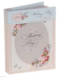 wedding planner journal hallmark vintage wedding planner book diary journal organiser