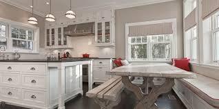 banquette cuisine cuisine armoires de cuisine concept meubles lackdor drummondville