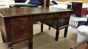ashley furniture writing desk signature design by ashley furniture h527 hamlyn executive desk with