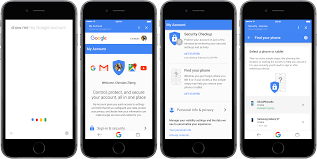 google u0027s my account webpage rolls out find my iphone like features
