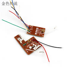2pcs 4ch remote control 27mhz circuit board pcb transmitter and