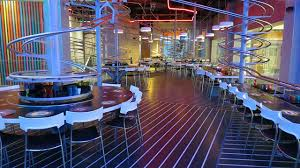 in abu dhabi roller coaster the s largest roller coaster themed restaurant opens in abu