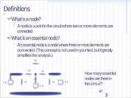 results for le node voltage method with ac c icmc 2014