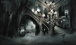 gothic home wallpaper home design