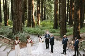 Berkeley Botanical Garden Wedding A Ceremony Set In An Enchanted Forest Color Palettes Till