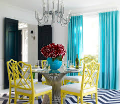 Teal Dining Table Dining Room Interior Design With Modern Dining Tables