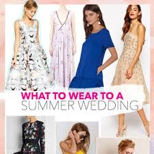 what to wear at a wedding what to wear to a summer wedding brides