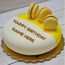 create custom birthday wishes greeting card with name