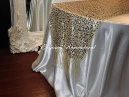 gold polka dot table cover elegance remembered llc linen rentals