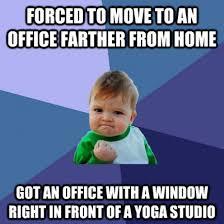 Drunk Yoga Meme - yoga pants everywhere i fear for my productivity meme guy