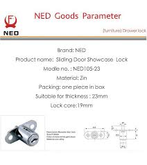 Sliding Glass Door Lock With Key by 12pcs Ned105 Plunger Lock Push Lock With 2 Keys For Sliding Glass