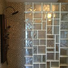 glass block designs for bathrooms glass block and glass brick trends what s and what s not today