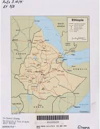 Map Of Ethiopia Ethiopia Maps Perry Castañeda Map Collection Ut Library Online