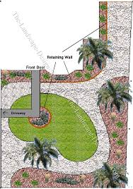Landscaping Ideas For Slopes A Long Narrow Front Yard On A Slope