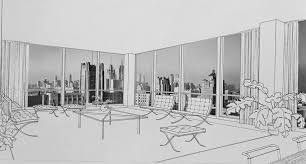 chicago skyline architecture blog floor plan skyline architecture lake shore drive by mies 4