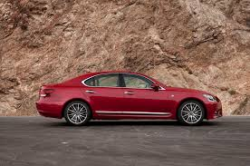 red lexus 2015 2015 lexus ls 460 first test motor trend