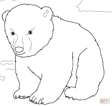 top 75 polar bear coloring pages free coloring page