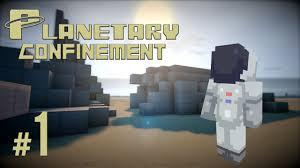 Minecraft 1 8 Adventure Maps Crash Landing Planetary Confinement Episode 1 Minecraft 1 8