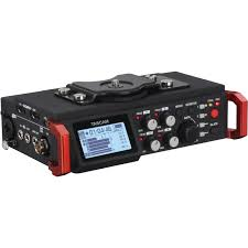 tascam dr 701d 6 track field recorder for dslr dr 701d b u0026h photo