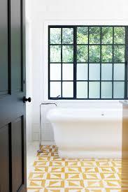 yellow tile bathroom ideas 104 best bathroom flooring images on home bathroom