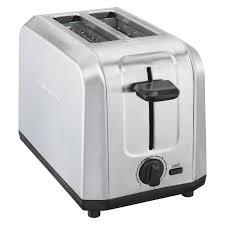 Hamilton Beach Toaster 4 Slice Hamilton Beach 22910 Brushed Stainless Steel 2 Slice Toaster