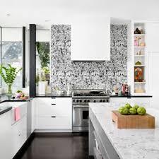 kitchen backsplash wallpaper wallpaper for backsplash houzz