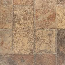 Flagstone Laminate Flooring Bruce Aged Terracotta 8 Mm Thick X 15 94 In Wide X 47 76 In