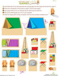 camping worksheet education com