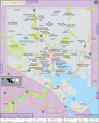 Morgan State University Map by Baltimore Map Map Of Baltimore City Maryland