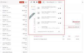 invoices user guide zoho books