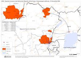 Republic Of Congo Map Who Democratic Republic Of The Congo Maps