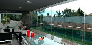 porches acristalados porches acristalados cortinas de cristal para patios aluminio