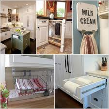 clever kitchen storage ideas 15 clever kitchen towel storage ideas