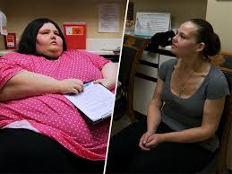 600 lb dottie woman who lost over 500 lbs stops eating for days if she sees her