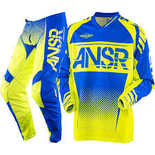 answer motocross gear new 2018 answer racing syncron pant jersey gear set combo acid