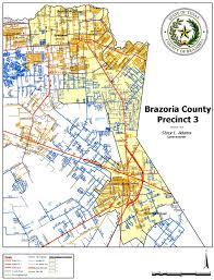 Austin Flood Plain Map by Precinct 3 Map Brazoria County Tx